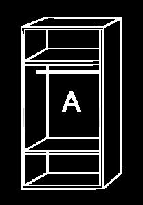 Modulo de interior de armario A