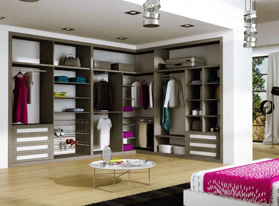 Armarios Madrid ,interior de armario vestidor a medida, optimizado con accesorios de ordenación