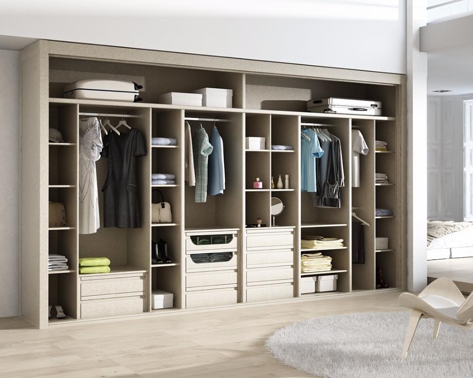 Precios de interiores de armarios y vestidores madrid - Armario en l ...