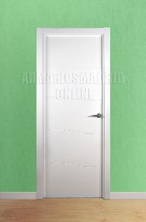 Block puerta de interior lacada en blanco modelo Olas. Oferta, ARTEVI, PROMA, OLAS, SAN RAFAEL