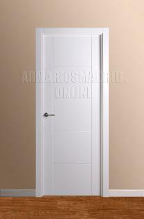 Block puerta de interior lacada en blanco modelo Mara. Oferta, ARTEVI, PROMA, MARA, SAN RAFAEL