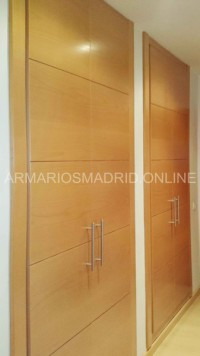Reformar armarios en Madrid, armarios modelo mapi en haya vaporizada