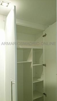 Vestir interior de armario en melamina blanca, forrar armarios