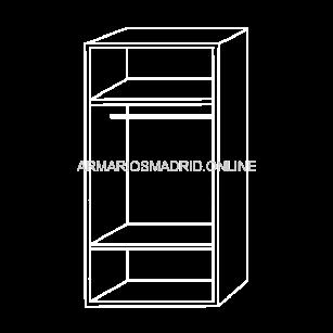 Modulo de armario ,modelo Turín