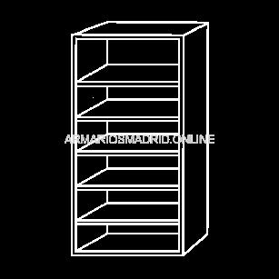 Modulo de armario, modelo Milan