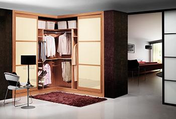 armario empotrado a medida en esquina de puertas correderas with diseo interior armarios empotrados
