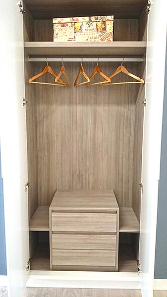 Interiores de armarios empotrados a medida armarios madrid - Cajonera interior armario ...