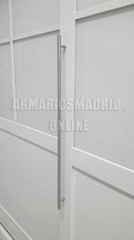 Tirador de barra en acero par puerta corredera y abatible