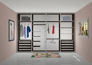 4  ejemplo de distribución de interior de armario empotrado modular