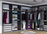5  ejemplo de distribución de interior de armario empotrado modular