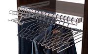 Organizador de armario, Barra completa extraible