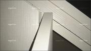 Melamina textil cora, dletalles interior de armario abuhardillado bajo escalera.